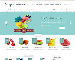 Great ET Boutique theme!